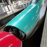 初めての北海道新幹線
