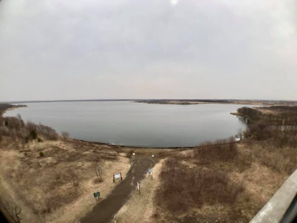 ウトナイ湖全景